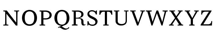 Serif6Beta-Regular Font UPPERCASE