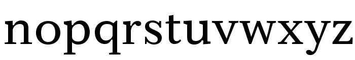 Serif6Beta-Regular Font LOWERCASE