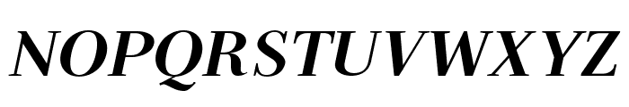Serif72Beta-BlackItalic Font UPPERCASE