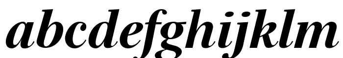 Serif72Beta-BlackItalic Font LOWERCASE
