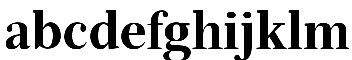 Serif72Beta-Black Font LOWERCASE