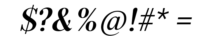 Serif72Beta-BoldItalic Font OTHER CHARS