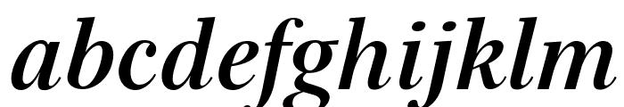 Serif72Beta-BoldItalic Font LOWERCASE