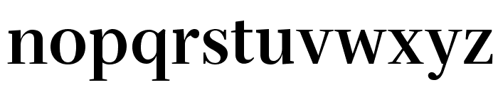 Serif72Beta-Bold Font LOWERCASE