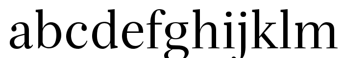 Serif72Beta-Regular Font LOWERCASE