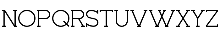 Seriffic Font UPPERCASE