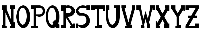 Serifon Normal Font UPPERCASE