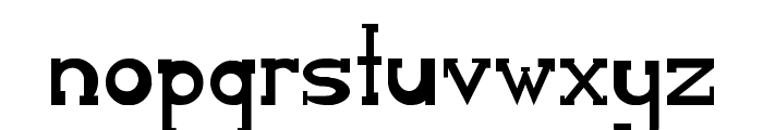 Serifon Normal Font LOWERCASE