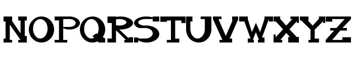 Serifonwide Font UPPERCASE