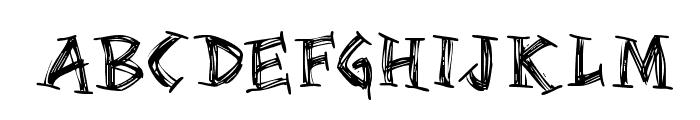 Serifsketchia Font LOWERCASE