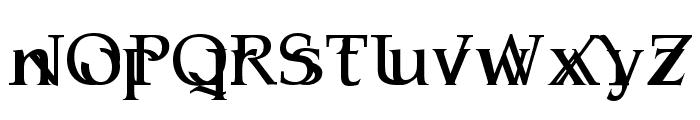 Serifsy Font LOWERCASE