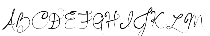 Seriously Delirious Font UPPERCASE