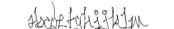 Serpent Knotform Font LOWERCASE
