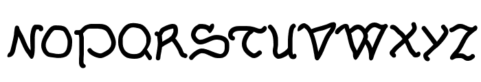 Serpentina Font UPPERCASE