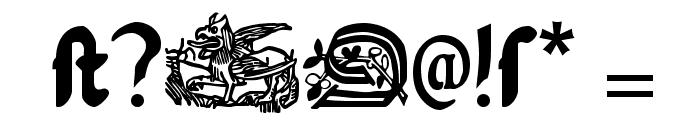 SerpentisBlack Font OTHER CHARS
