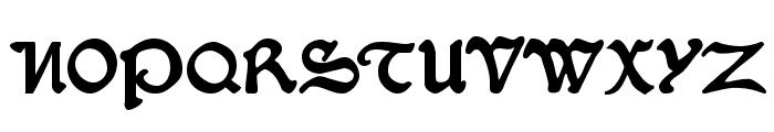 SerpentisBlack Font UPPERCASE