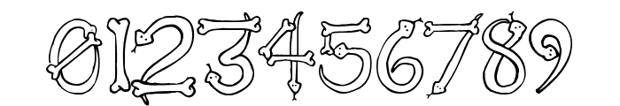 Serpents Font OTHER CHARS