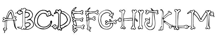 Serpents Font UPPERCASE