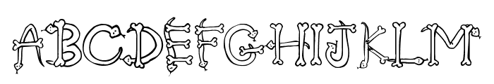 Serpents Font LOWERCASE