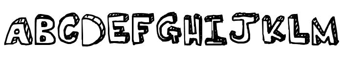 Ser's font Font UPPERCASE