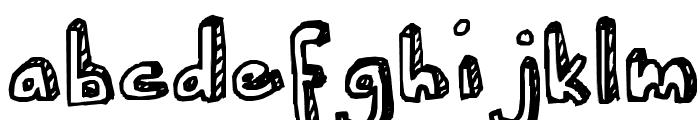 Ser's font Font LOWERCASE