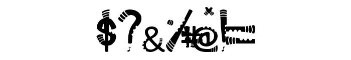 Serunaitype Regular Font OTHER CHARS