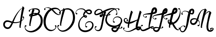 Serval Light Font UPPERCASE