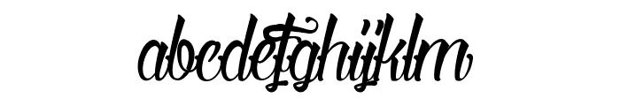 Serval Light Font LOWERCASE