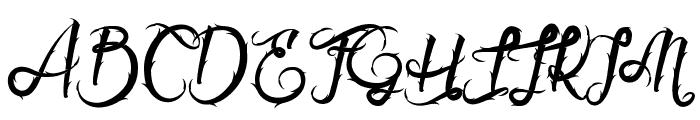Serval  Font UPPERCASE