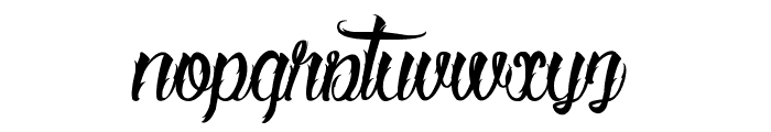 Serval  Font LOWERCASE