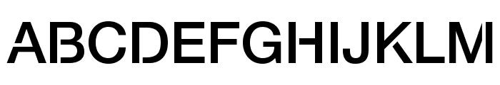 Servetica Medium Font UPPERCASE