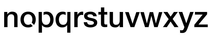 Servetica Medium Font LOWERCASE