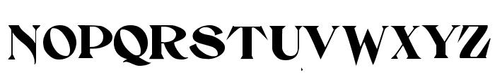 Setebos Font UPPERCASE