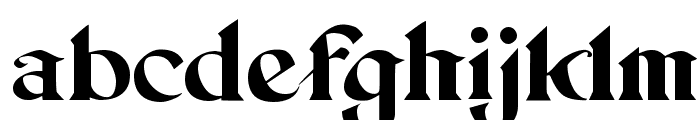 Setebos Font LOWERCASE