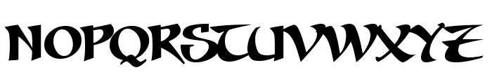Seven Swordsmen BB Font LOWERCASE
