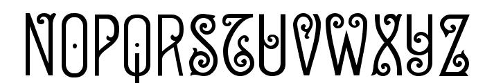 Sevilla Decor X Font UPPERCASE