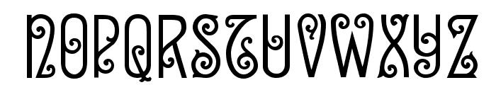 Sevilla Decor Font UPPERCASE
