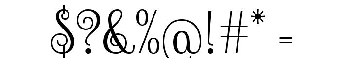 Sevillana-Regular Font OTHER CHARS