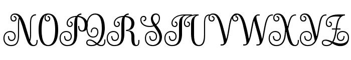 Sevillana-Regular Font UPPERCASE