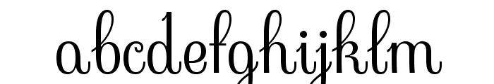 Sevillana-Regular Font LOWERCASE