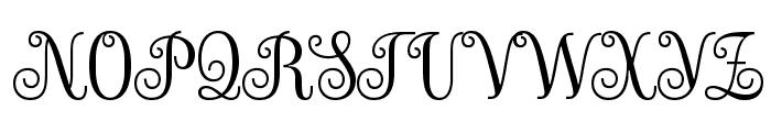 Sevillana Font UPPERCASE