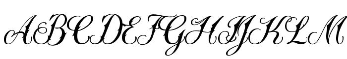 Sewstain Font UPPERCASE