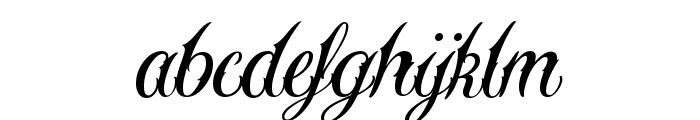 Sewstain Font LOWERCASE