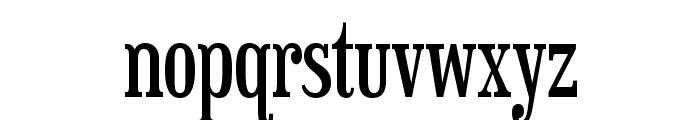 Sexsmith-Regular Font LOWERCASE