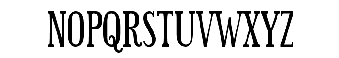 Sexsmith Font UPPERCASE