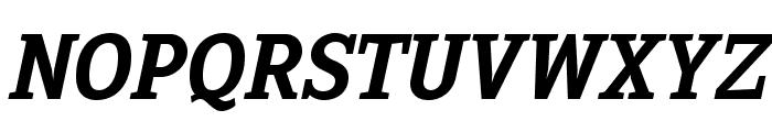 Sextan Bold Italic Font UPPERCASE