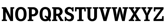 Sextan Bold Font UPPERCASE
