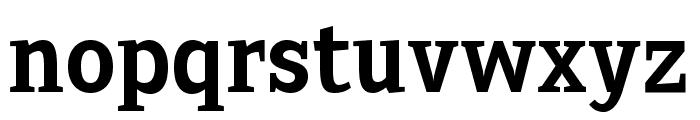 Sextan Bold Font LOWERCASE