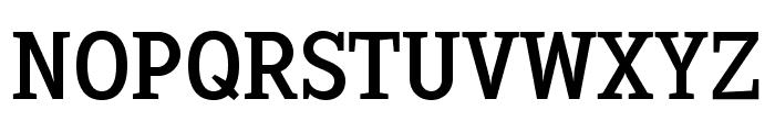 Sextan Roman Font UPPERCASE