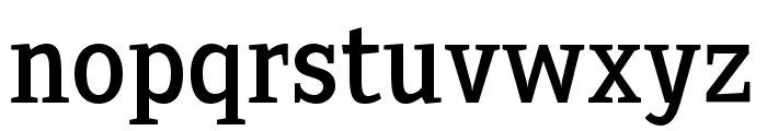 Sextan Roman Font LOWERCASE